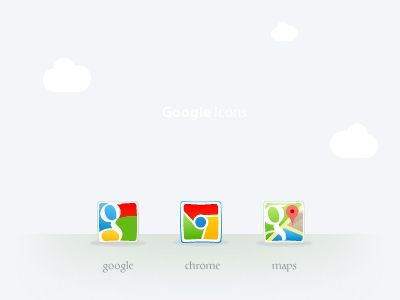 Google Icons by Safa Paksu