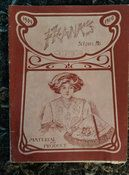 Franks 1900s Needlework Product Catalog Embroidery Lace Fancy Goods Supply