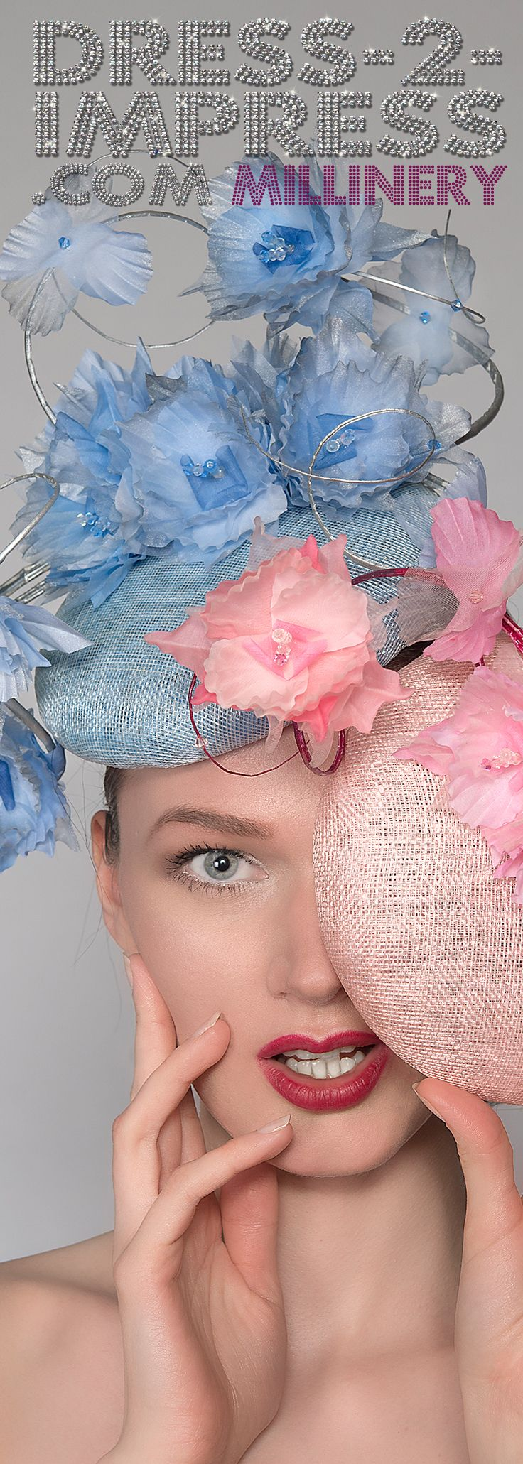 Handmade Designer Hats and Headpieces for Royal Ascot, Kentucky Derby, Dubai World Cup, Melbourne Cup and other Races, Mother of the Bride, or Weddings. Couture Millinery. Amazing Hats. #millinery #bighats #designerwear #fashion #fashionista #royalascot #kentuckyderby #racingfashion #fashiononthefield #hats #fascinators #fashionaddict #tocado