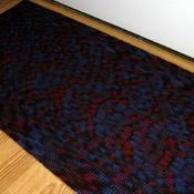 Crochet Wool Door Mat - via @Craftsy
