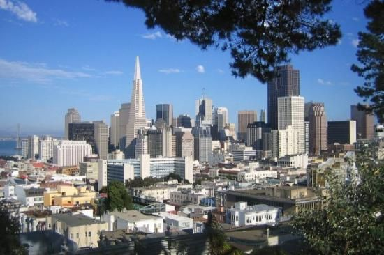 Views of downtown from Nob Hill, San Francisco #SF #WhereTraveler