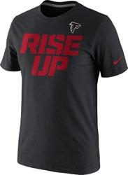 Atlanta Falcons Rise Up T-Shirt - Black $0.00 http://www.fansedge.com/Atlanta-Falcons-Rise-Up-T-Shirt---Black-_-1923389015_PD.html?social=pinterest_pfid20-01023