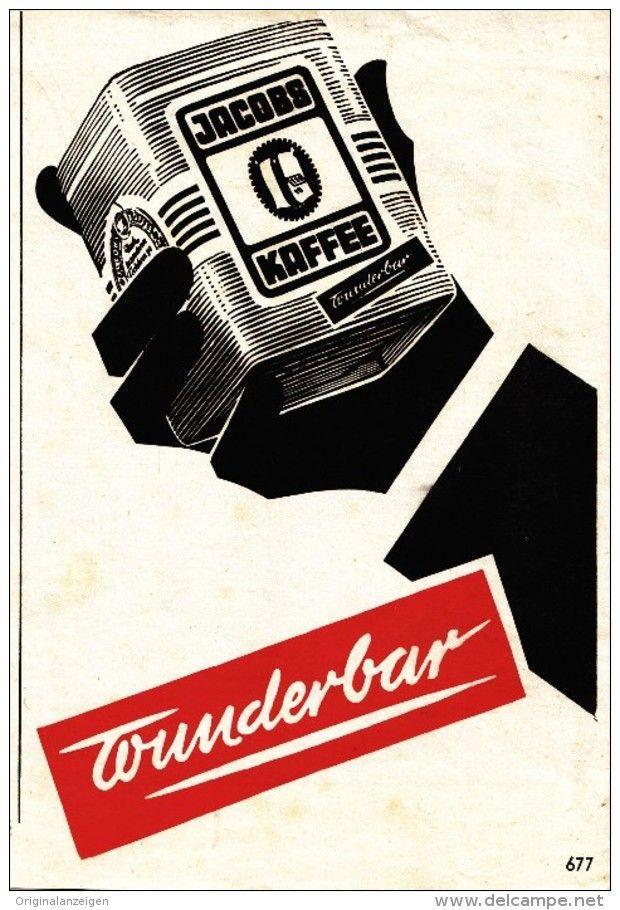 Original-Werbung/Anzeige 1959 - JACOBS KAFFEE - ca. 110 x 160 mm