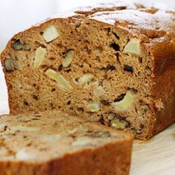 Applesauce Nut Bread- a delicious and healthy quick bread, perfect for ...