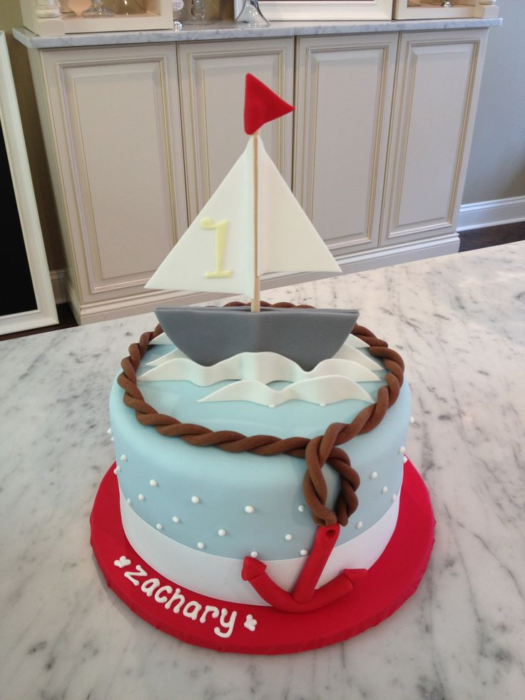 the sailboat cake...sweet mary's, new haven ct
