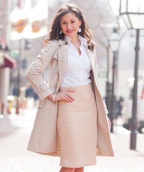 Got The Back-To-Work Blues? This Perfect 9-To-5 Look Should Help #refinery29