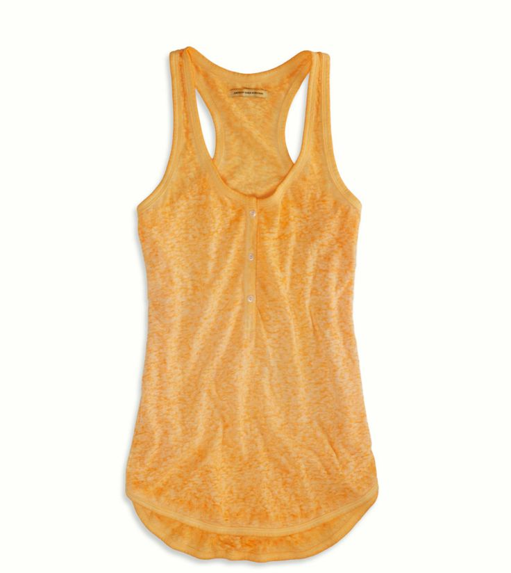 Ameican Eagle - Sunsational Henley Tank - $15.95