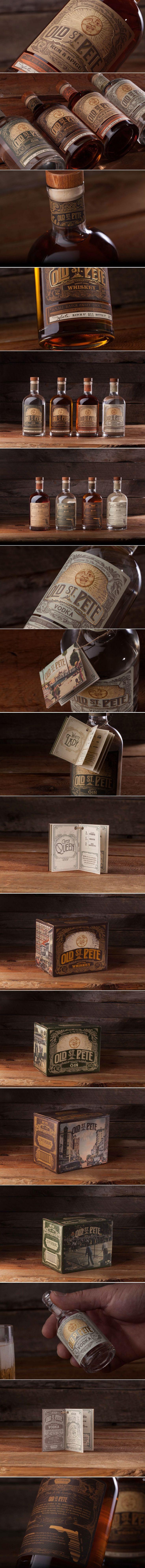 Old St. Pete Craft Spirits — The Dieline   Packaging & Branding Design & Innovation News