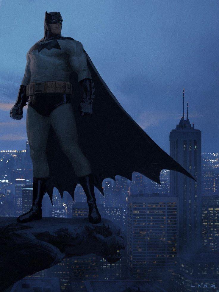 Batman - Concept by Ryan Lang