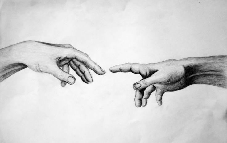 праздник две руки тянутся друг к другу картинки черно белые девушки знали, если