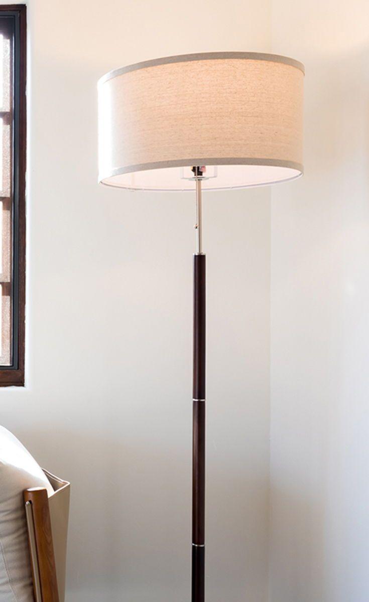 Carter Floor Lamp Floor Lamp Shades Modern Floor Lamps Linen