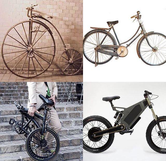 9f41a95c825 Aquí, la evolución de este majestuoso medio de transporte, la bicicleta y  sus cambios