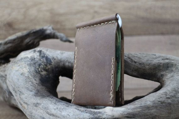 Money clip wallet leather money clip wallet by Philipposleather
