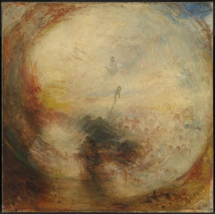 Joseph Mallord William Turner 'Light and Colour (Goethe's Theory)  - the Morning after the Deluge - Moses Writing the Book of Genesis', exhibited 1843