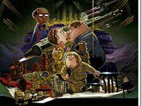 Питер пересказывает сюжет фильма Звёздные войны. Эпизод V. Империя наносит ответный удар. К юному Люку Скайуокеру (Крис), схваченному Дартом Вейдером (Стьюи Гриффин), в видении приходит Оби-Ван Кеноби (Герберт), который советует ему встретиться с Мастером Йодой. Тем временем Принцесса Лея (Лоис) и Хан Соло (Питер) влюбляются друг в друга.