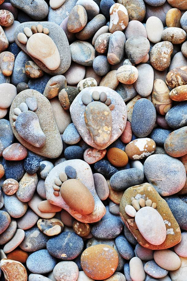 Stone-Footprints-land-art-Iain-Blake-2  So because i wasn't in this week i've been looking at this and saw you were looking more into land art that's what i can gather from,i looked into some land art & saw this if anybody finds it interesting.                                                                                                                                                                                 More