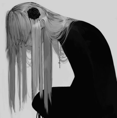 1000+ Ideas About Manga Girl Sad On Pinterest