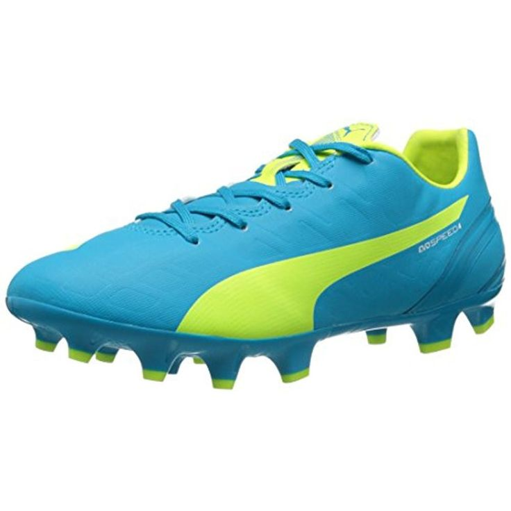 Puma Womens evoSpeed 4.4 FG Lightweight Soccer Cleats