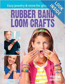 rubber band loom craft book