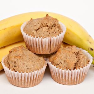 Banana Protein Muffin    Perfect for a healthy morning or afternoon snack. Tastes just like banana bread with added nutritional bonus of protein and flaxseeds. For recipe go to www.Mydietfreelife.com