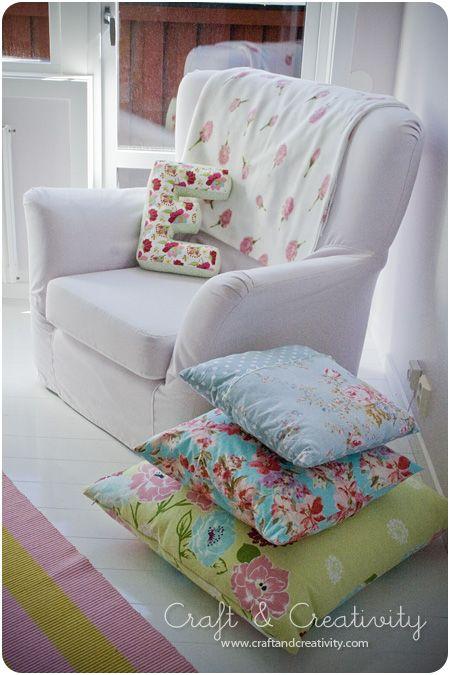 Dagens pyssel, E-kudde – Craft of the Day, E-pillow | Craft & Creativity – Pyssel & DIY