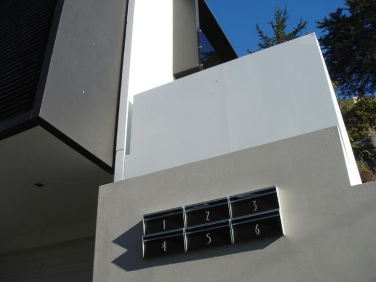 modern letterbox design, architectural letterbox, contemporary letterbox, mailbox accessories,