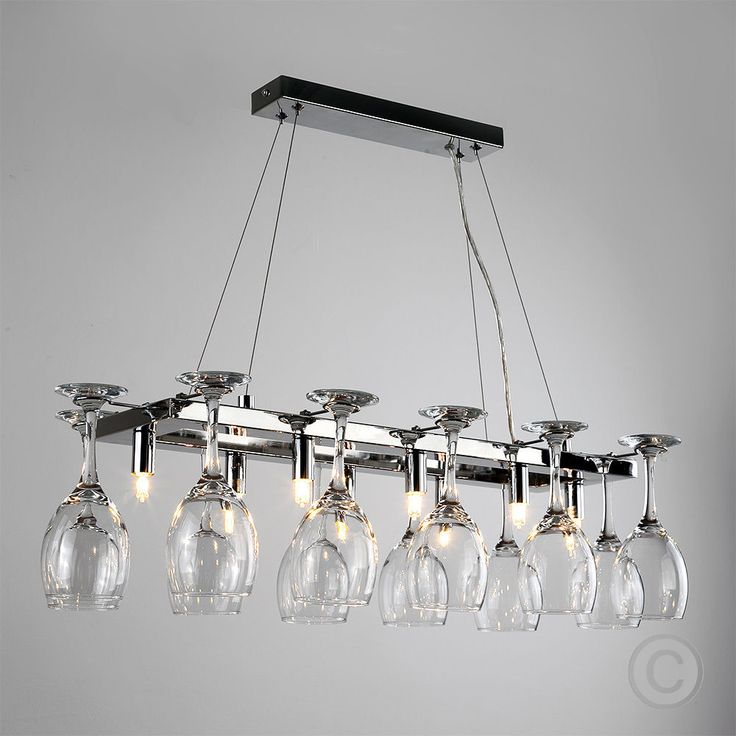10 best lights images on pinterest ceiling lamps ceilings and modern chrome wine glass chandelier suspended 8 way ceiling lamp light fitting aloadofball Choice Image