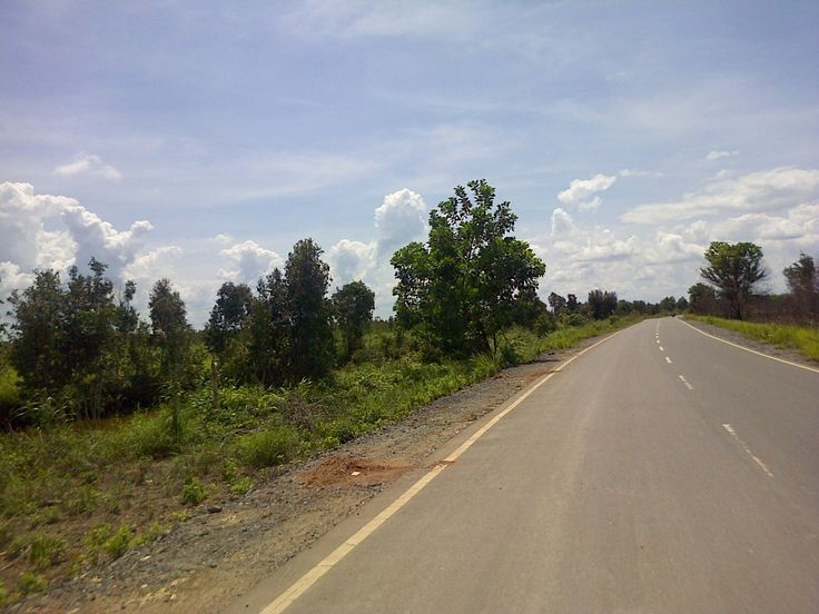 road to my work