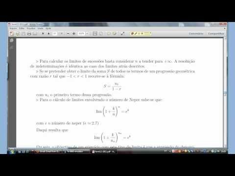 Limites notáveis   #limites #matematica