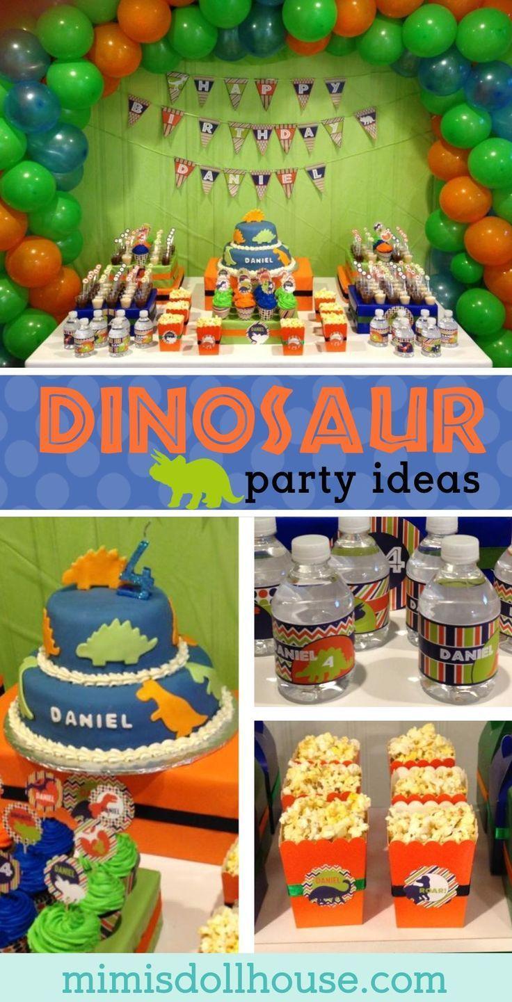 Dinosaur Party: Daniel's ROAR-some Birthday