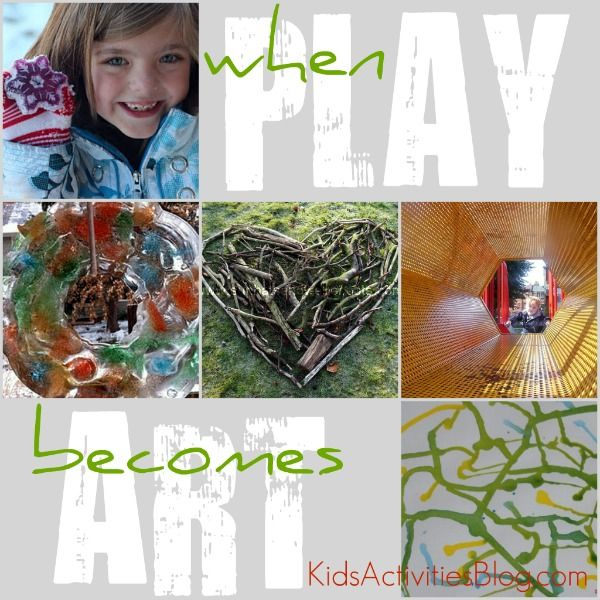 I love it when play turns into a thing of beauty.  A list of craft/art ideas for kids...Kids Activitieslearn, Activities Blog, Middle Schools, Plays Turn, Fun Stuff, Preschool Ideas, Kids Ideas, Craftart Ideas, Art Kids