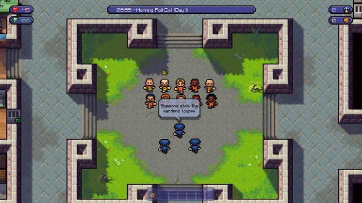 The Escapists break onto PS4 at the end of May #TheEscapists #PS4 #Playstation #4theplayers #gaming #news #vgchest