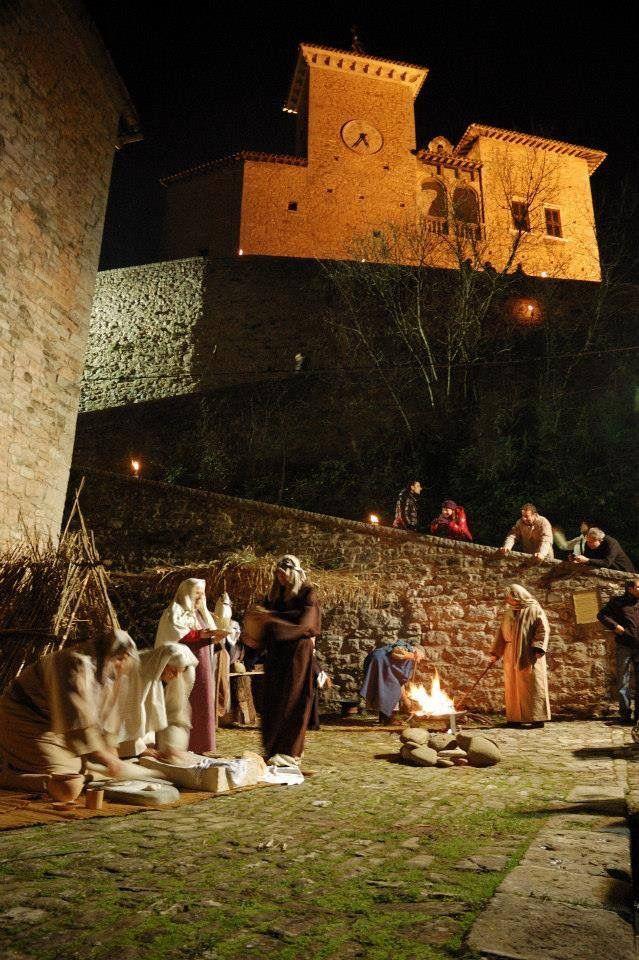 Il castello Brancaleoni di Piobbico