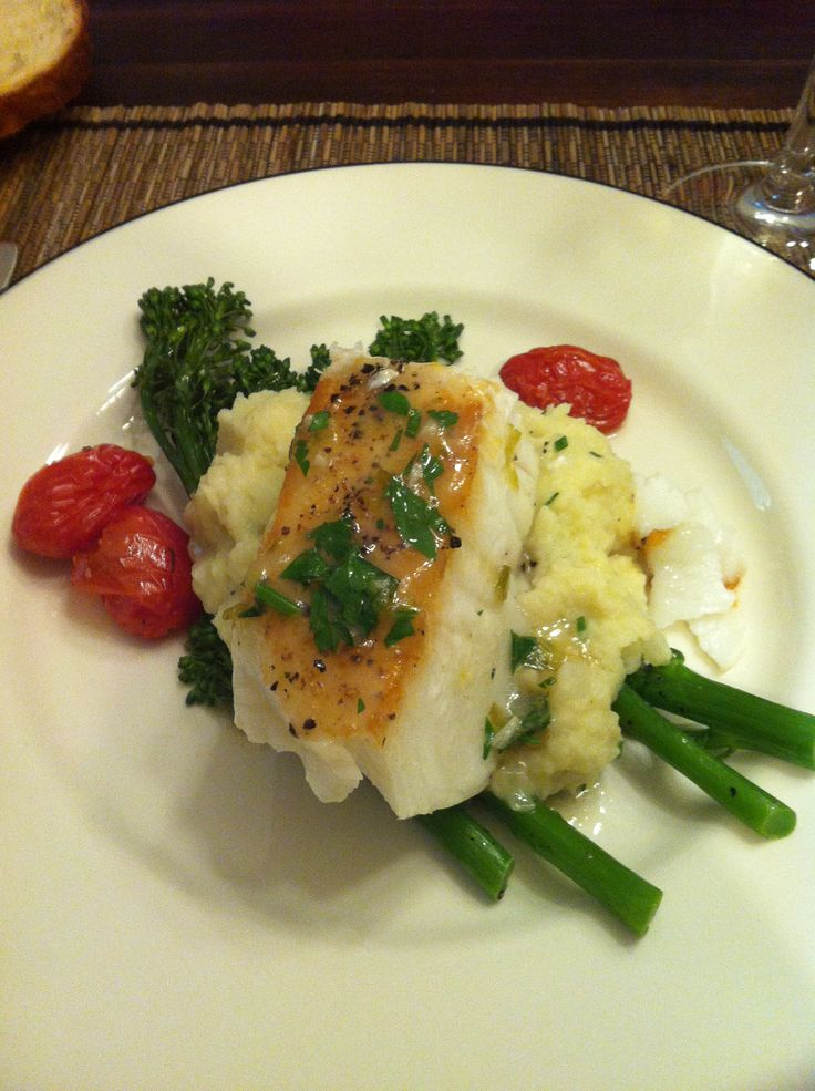 pan seared black cod with summer vegetables recipes dishmaps black cod ...