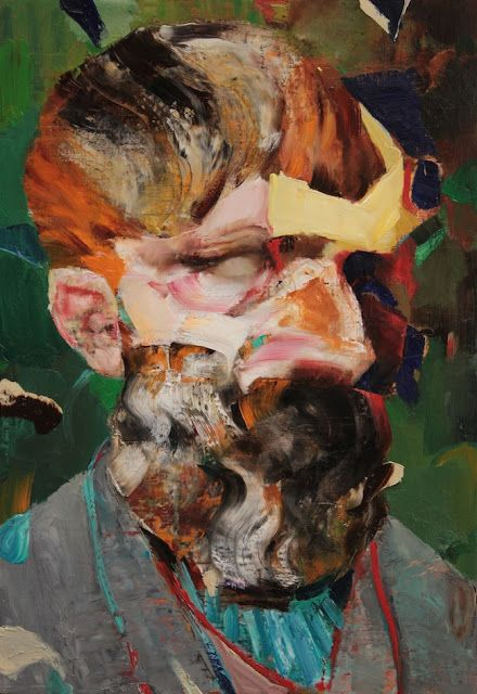 Petre Stoica, remember necesar: Adrian Ghenie - Vincent van Gogh as Old, 2014
