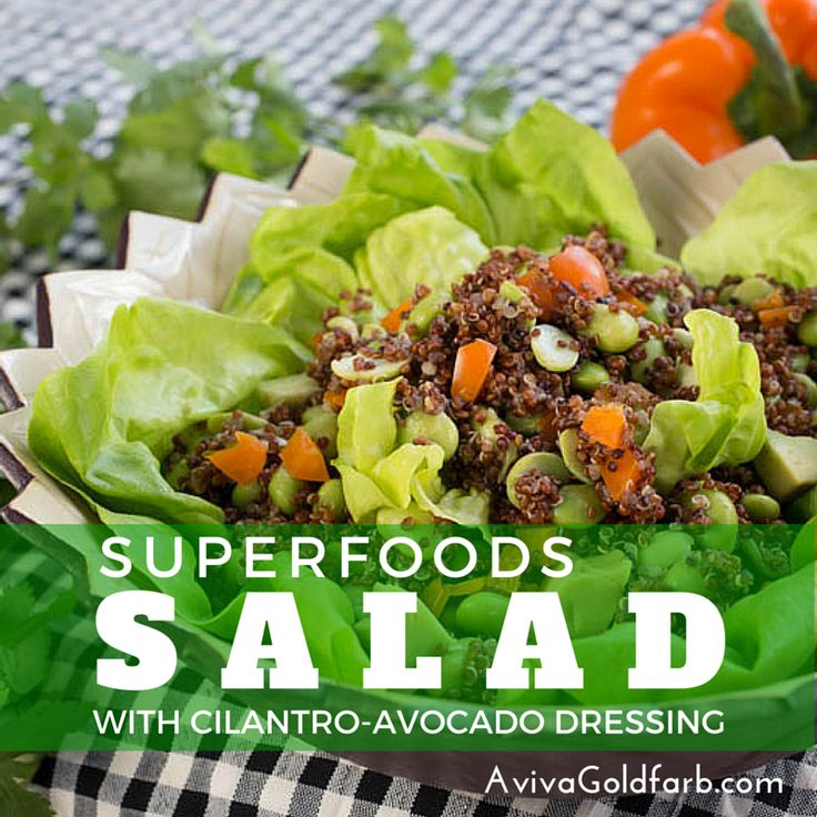 184 best sugar free recipes images on pinterest eat healthy superfoods salad with quinoa edamame avocado sunflower seeds and other super foods forumfinder Choice Image
