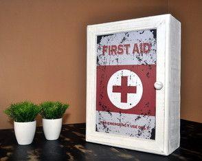 Armário Primeiros Socorros Vintage