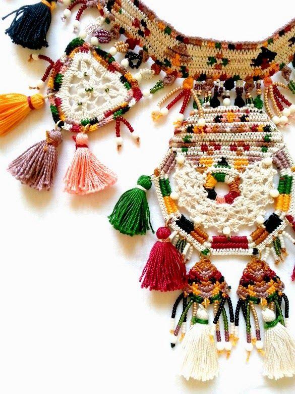 necklace vestida de domingo