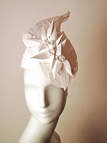Paper Cut Project. - Rosette Hat