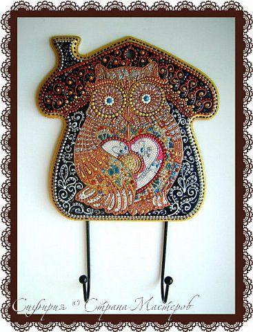 Декор предметов Роспись Ключницы - совушки фото 1