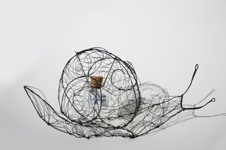 Sculpture fil de fer