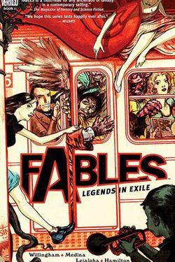 The Fables series. Have just devoured books 9 - 14 in the last week and a half. A brilliant series, full of interesting characters, excellent use of fairytale nods, and an engaging narrative
