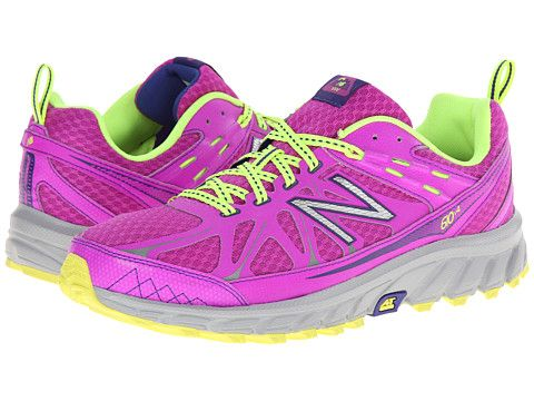 New Balance WT610v4 Purple/Yellow - Zappos.com Free Shipping BOTH Ways