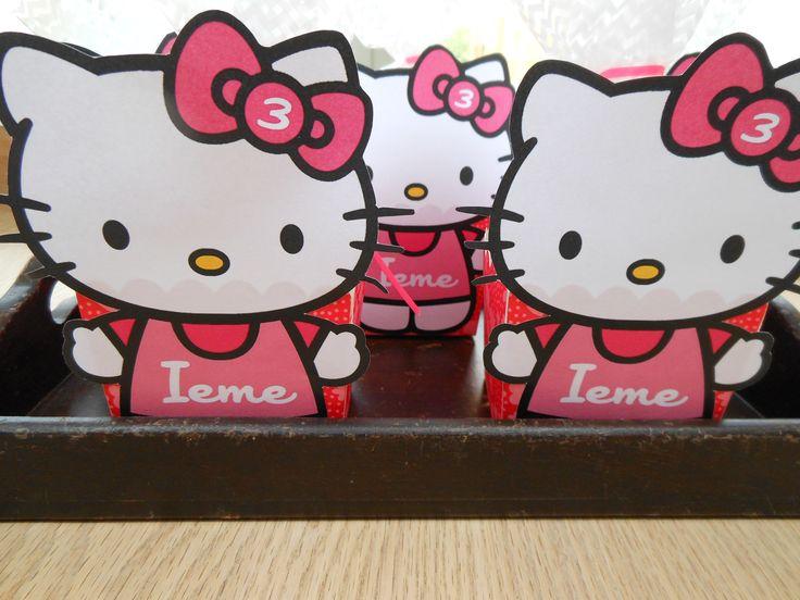 Traktatie met Hello Kitty.