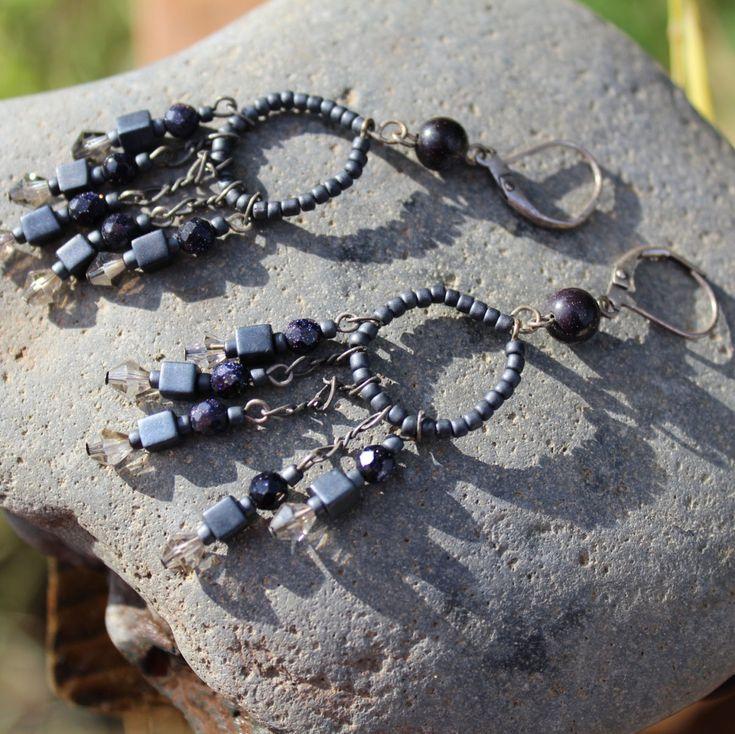 Chandelier earrings, vintage chandelier earrings, cheap chandelier earrings, chandeliers earrings, earrings chandelier FREE SHIPPING! - product image