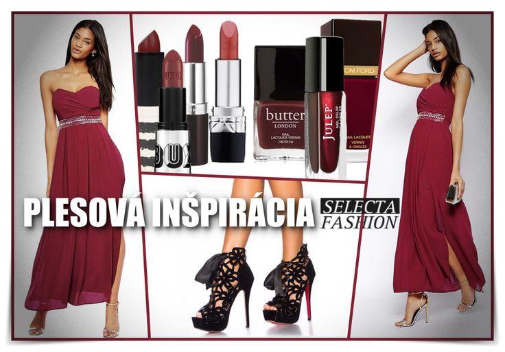 Marsala inšpirácia na plea by #selectafashion #marsala #inspiration #fashion #dress prom dress
