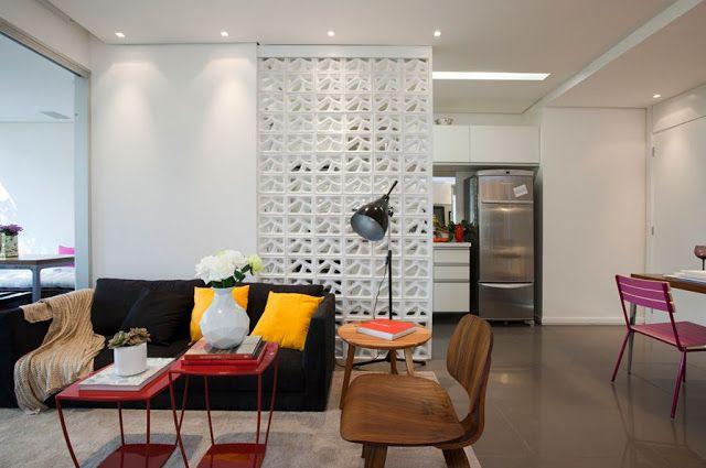 Meu Palácio de 64m²: Apartamento pequeno integrado