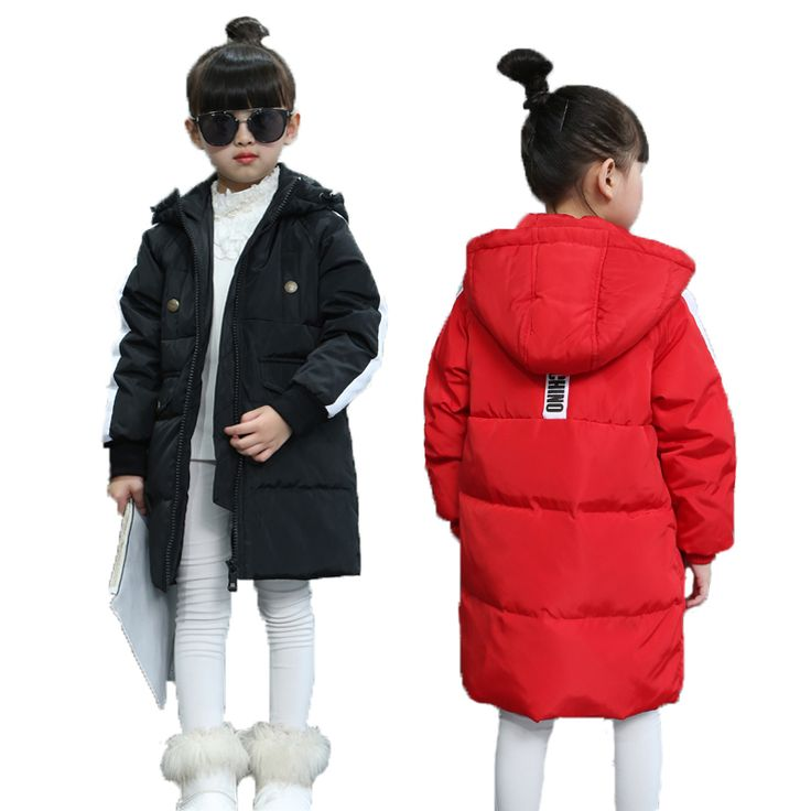 >> Click to Buy << 2017 Winter New Children's Down Jacket Long Thick Boy Girls Winter Coat Duck Down Kids Winter Jackets for Boy\girls Outerwear  #Affiliate