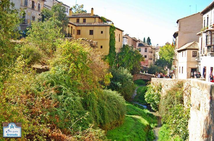 La calle mas bonita del mundo, la Carrera del Darro (Granada)