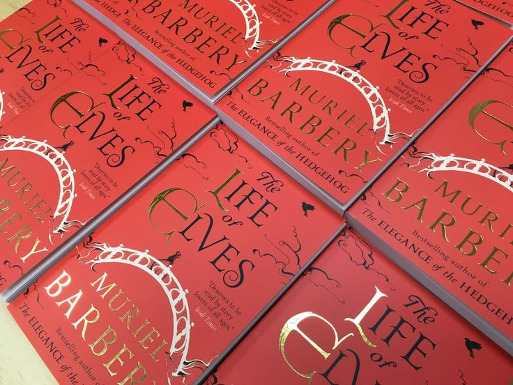 The new edition of Muriel Barbery's The Life of Elves has arrived.